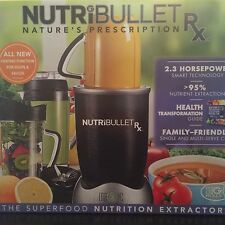 Nutribullet Rx 1700-Watt Blender Nutri Bullet NEW IN BOX
