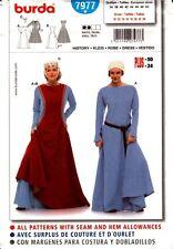 Burda Sewing Pattern 7977 Burda Women's Medieval Dress Costume