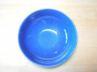 """Crate & Barrel COAST BLUE  Coupe Bowl 7"""" Glossy All Blue 1 ea 1 available"""
