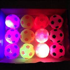 1Pcs Light Up Sounding Ball Flashing Bouncing Balls Hedgehog Ball Kids Toy SMS