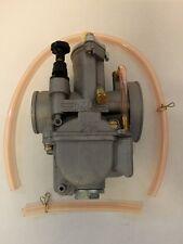 OKO PWK 30 mm Tuning Flachschieber Vergaser mit Powerjet + poliert