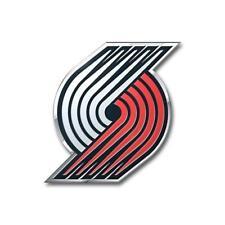 Portland Trailblazers Die-Cut Metal Auto Emblem [NEW] NBA Car Decal Sticker