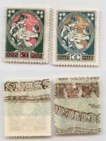 Latvia 🇱🇻 1919 SC 68-69 mint . rtb6144