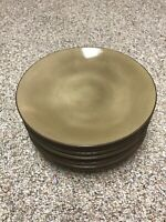 Dinner Plate Set Of 8! Nautica Island Shores Tableware Island Sand Brown Coupe