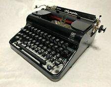 Rare Olympia Elite Portable Typewriter, Working, Near Mint