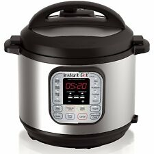Instant Pot DUO80 6 Qt 7 In 1 Multi Use Programmable Pressure Cooker Slow Cook