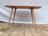 eleganter 50er 60er Design Couchtisch Tisch Eames Ära 60 x 100 cm 58cm hoch