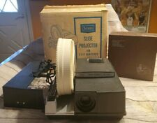 Vintage Sears R-43 Easi-load slide projector - carousel, manual, WORKS!