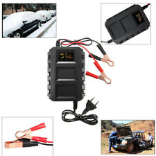 12V 20A Smart Automotive Battery Lead Acid Battery Charger Car Motorcycle Black