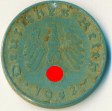 3RD GERMAN EMPIRE / 10 Reichspfennig, 1942, /  #WT11484