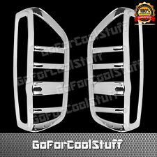 05-15 For Nissan Frontier Taillight Bezel Chrome Abs Covers