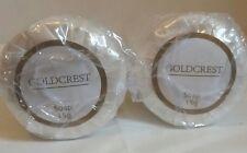 50 x PREMIUM GOLDCREST PLEATED SOAP BAR HOTEL B&B GYM LODGES CAMPING HOME TRAVEL