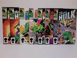 THE INCREDIBLE HULK: #307 - #313 - MIKE MIGNOLA COVERS - FREE SHIPPING