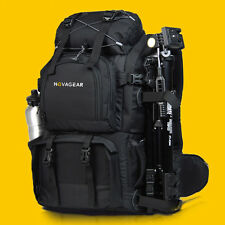 "Professional Waterproof DSLR Camera Backpack Bag 17"" Laptop Bag + A Shoulder Bag"