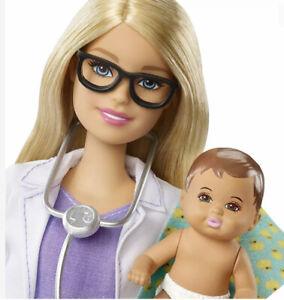Barbie Baby Doctor Blonde Genuine Uk Seller BNIB Mattel 🇬🇧 Birthday Career