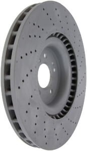 Disc Brake Rotor-OE Type Drilled/Slotted Disc-Preferred Front Centric 127.35136