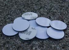 10 x Nfc Tag On-Metal Sticker Topaz 512 23mm Sticker Round White Outdoor