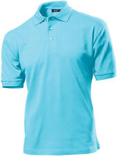 Hanes G135 Mens Plain 100% Cotton Top Polo Sports Golf Shirt No Logo