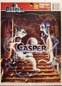 """Casper"" 12-pc Frame Tray Puzzle (Golden Books / Western Publishing) New, Sealed"