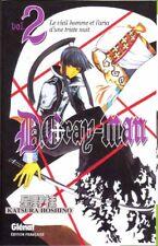 D.GRAY MAN tome 2 Hoshino MANGA shonen