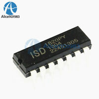 10PCS ISD1820 ISD1820P ISD1820PY Chip 8-20s IC DIP-14 DIP14