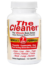 Century System's The Cleaner Women's Formula 7 Day Ultimate Body Detox (52 Caps)