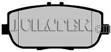 JURATEK QUALITY BRAKE PADS REAR JCP1894