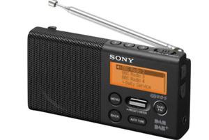 Sony XDR-P1DBP Digital Pocket Radio Genuine New