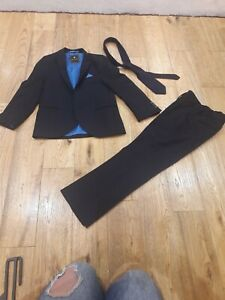 NEXT Boys Blue Suit Size 6 Years Signature