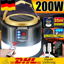LED Solarleuchte Outdoor Camping...