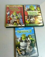 Shrek Kids Dreamworks Dvd Lot