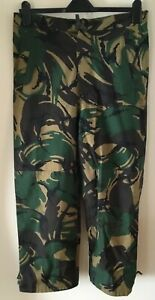 Waterproof and Breathable goretex Camo HW Trousers Ankle zip Very Good condition