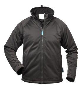 Restposten Softshelljacke Outdoorjacke Jacke schwarz