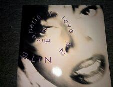 "MICA PARIS ""IF I LOVE U 2 NITE"" 1991 UK 12"" vinyl written by Prince"