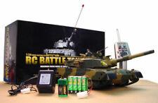1:24 Defense Force Type 90 RC Airsoft Battle Tank firing range w/ motor Air Gun