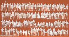 Preiser 16352 au bahnhof. 120 non peinte figurines, H0