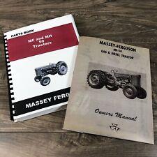 Massey Ferguson Mf 50 Tractor Parts Operators Manual Catalog Set Gas And Diesel