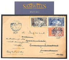 MS1365 1927 France Colonies DAHOMEY *Porto Novo*Commercial Cover GB London Notts