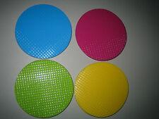 Runde Markenlose Tischuntersetzer aus Glas