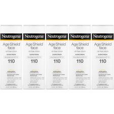 4x Neutrogena Age Shield Face Oil Sunscreen SPF 110 Anti-aging Protection