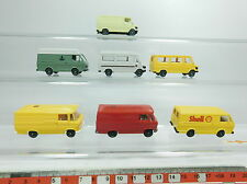Bb284-0, 5# 7x Wiking h0/1:87 mercedes/mb + volkswagen/VW: 268+ shell + gas etc, Neuw