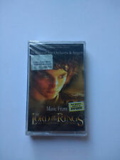 THE LORD OF THE RINGS OST soundtrack Rare Ukrainian tape cassette hobbit jackson
