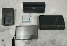 Sony Cyber-shot DSC-TX7 10.2 MP Digital Camera - Bundle
