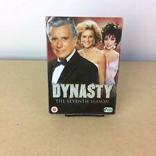 Dynasty: Complete Season 7 DVD Box Set 1986 Region 2 PAL FREE SHIPPING!!