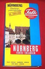 Stadtplan , Falk , Nürnberg , 34.Auflage , 1981 , TOP
