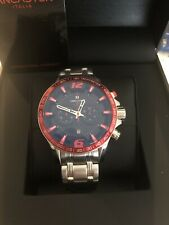 Lancaster Italia Hurricane Diver Watch Red Closeout