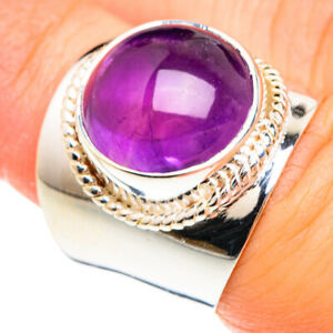 Amethyst 925 Sterling Silver Ring Size 6.25 Ana Co Jewelry R75066