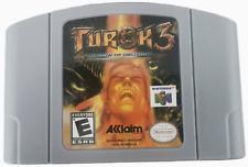 1x Game Card N64 Turok 3 Shadow of Oblivion for Nintendo 64 US edition
