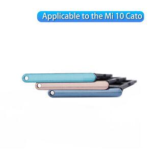 Sim Tray Holder For Xiaomi Mi10 Mi 10 SIM Card Tray Slot Socket Repair Parts Y1