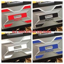 REFLECTIVE VARIO SAFETY PANELS TO FIT BMW R1200GS LIQUID COOLED STICKERS